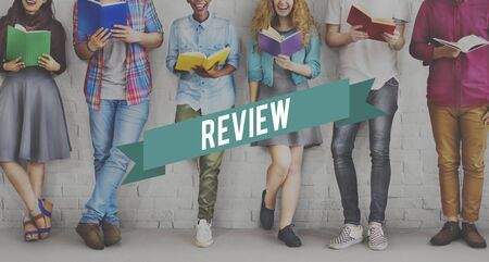 reviewer: Review Preview Appraisal Audit Evaluate Report Concept Stock Photo