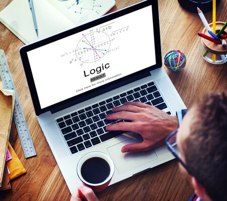 l�gica: Inteligencia l�gica motivo racional Soluci�n Ideas Concept