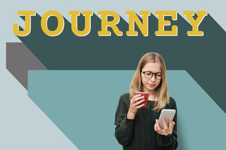 Journey concept Stock Photo