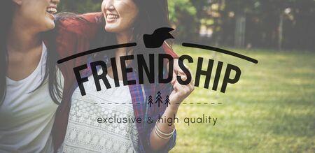 friendliness: Amigos Amistad Relación concepto negativo Amabilidad