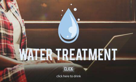 sludge: Water Treatment Clean Removal Sawage Sludge Concept