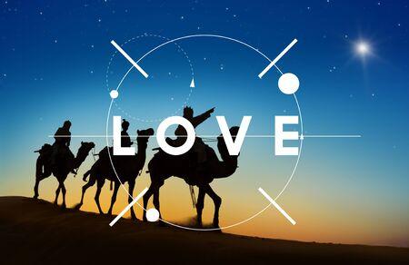 Hoffnungs-Glauben-Liebe Religion Heilige Konzept