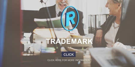 trademark: Trademark Brand Rights Protection Copyright Concept