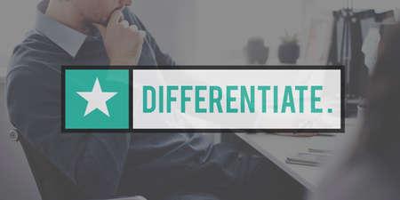 differentiate: Differentiate Distinguish Identify Recognize Concept