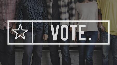 encuestando: Sondeo de la elección del votante voto electoral bien escogido Concepto encuesta