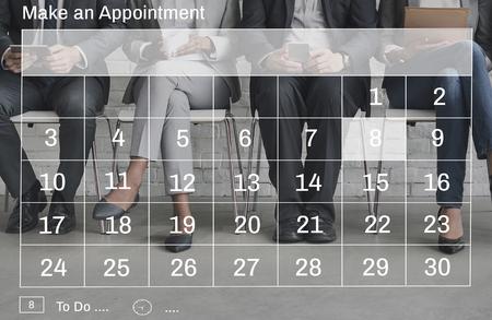 Calendrier Dates Nomination Concept graphique Banque d'images - 58637893