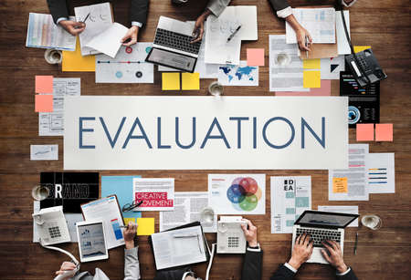 opinion: Evaluation Opinion Report Suggestion Feedback Concept Stock Photo