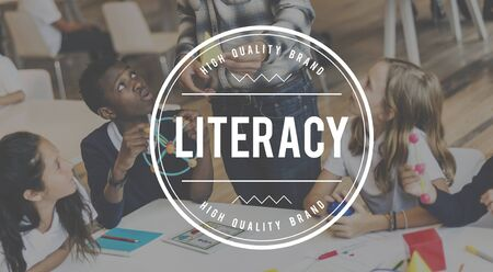 literacy instruction: Literacy Books College Instruction Learning School Concept