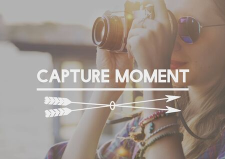 recoger: Capture Collect Moments Not Things Experience Concept