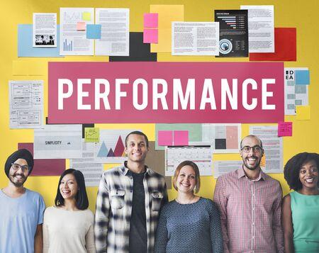 implementation: Performance Efficiency Implementation Inspiration Concept Stock Photo