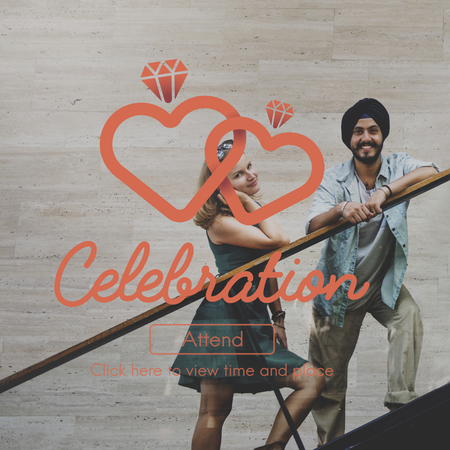 on occasion: Celebration Celebrate Anniversary party Occasion Concept Stock Photo