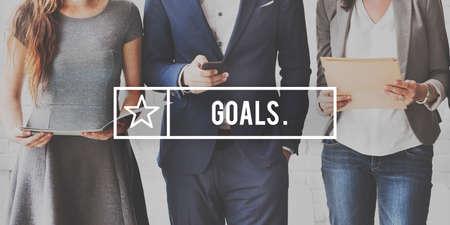 creer: Objetivos Objetivo aspiraci�n creen expectativas concepto objetivo
