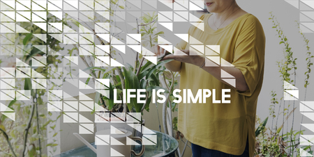 simple life: Enjoy Simple Things Life Inspiration Concept
