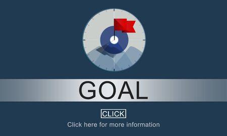 inspiration: Goal Inspiration Achievement Aspiration Concept