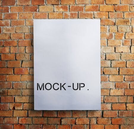mock up: Mock Up Model Typography Object Sample Concept