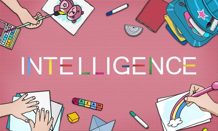 inteligent: Intelligence Inteligent Smart Genius Insight Skilled Concept Stock Photo