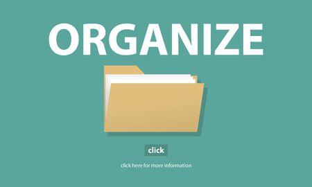 details: Files Index Content Details Document Archives Concept Stock Photo