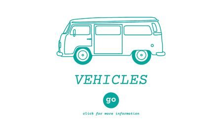 traveling: Vehicles Traveling Adventure Journey Destination Van Concept