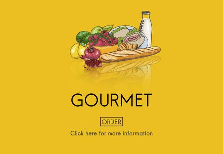 healthy meal: Gourmet Catering Cuisine Food Fresh Healthy Meal Concept