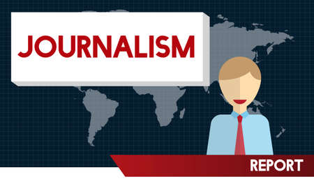 an article: Journalism News Interview Article Content Concept Stock Photo