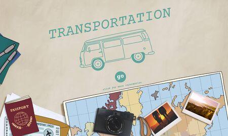 transported: Transportation Travel Automobile Vehicle Concept