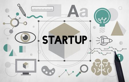 Start up Business Launch Development Concept
