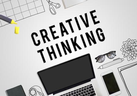 creative thinking: Creative Thinking Creativity Ideas Innovation Concept
