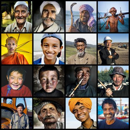 humanismo: La diversidad multi-étnica Cultura concepto asiático