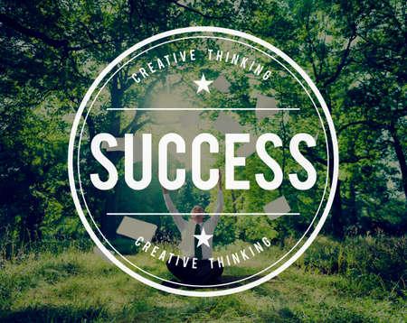 Success Accomplishment Achievement Growth Successful Concept