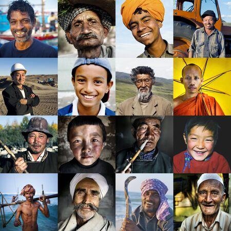 asian culture: Diversity Multi-ethnic Asian Culture Concept Stock Photo