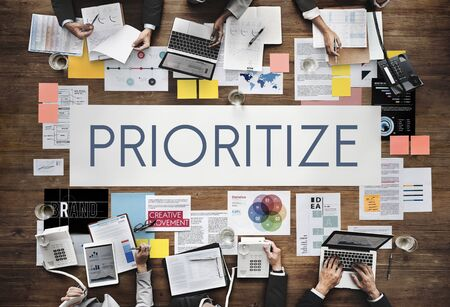 emphasize: Prioritize Emphasize Efficiency Important Task Concept