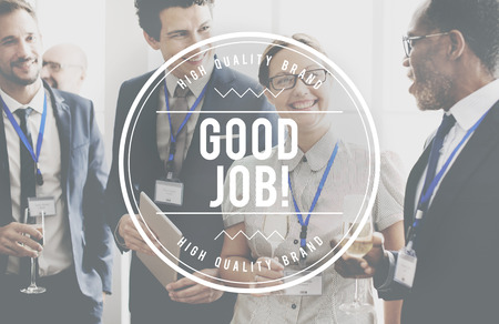 expertise concept: Good Job Success Victory Work Expertise Concept Stock Photo