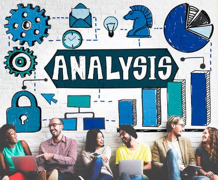 reseach: Analysis Information Analytics Planning Concept Stock Photo