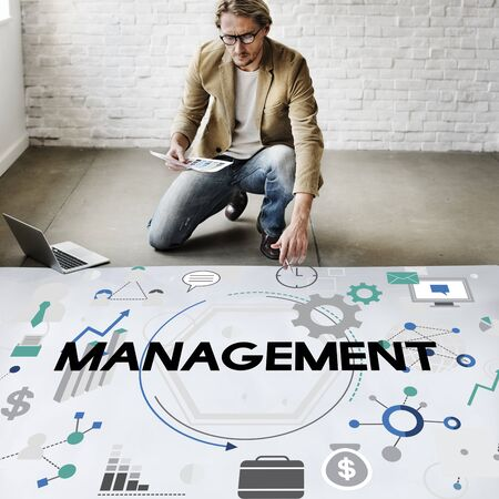 controlling: Management Controlling Business Corporate Concept
