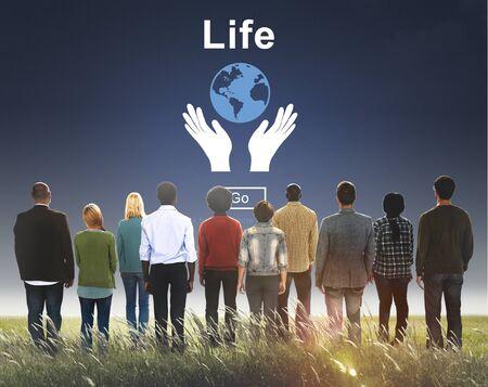ecosistema: Concepto del ambiente Conserve la vida de los Ecosistemas