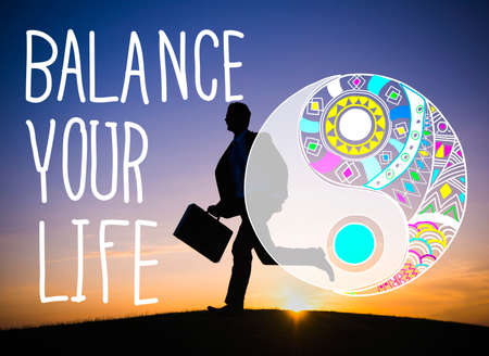 stabilize: Balance Your Life Equality Steady Concept