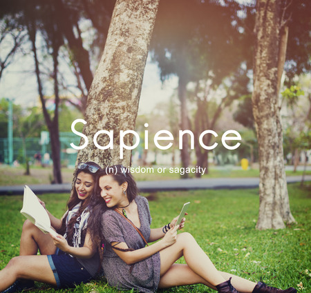 educated: Sapience Highly Educated People Graphic Concept Stock Photo