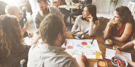 Réunion de l'équipe Brainstorming Planification Analyse Concept Banque d'images
