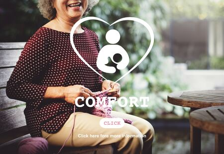 recreational pursuit: Comfort Convenience Love Family Relaxation Concept Stock Photo