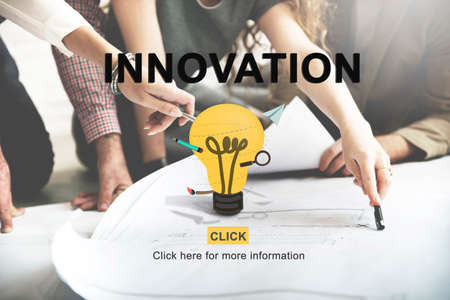 business innovation: Innovation Invention Creative Design Technology Concept