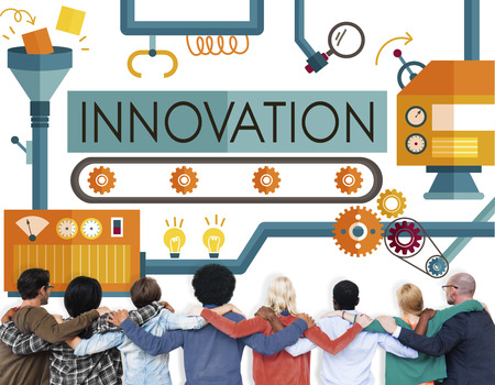 huddle: Innovation Ideas Imagine Processing System Concept