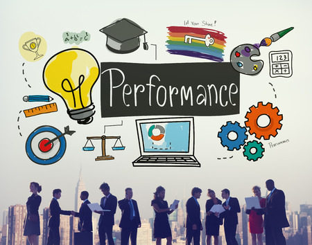 implementation: Performance Ability Skill Expertise Implementation Expert Concept Stock Photo