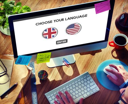 factions: Language Dictionary English American Concept
