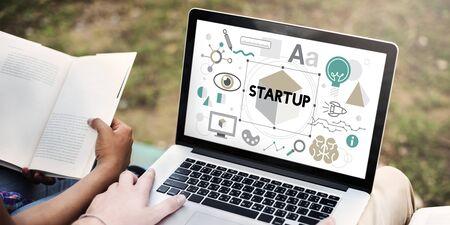 launch: Start up Business Launch Development Concept