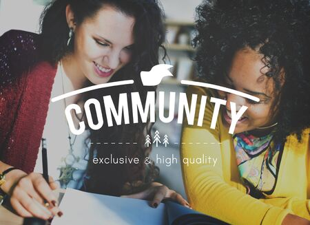 black empowerment: Community Connection Network Togetherness Concept