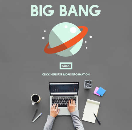 bang: Astronomy Big Bang Planet Spaceship Concept