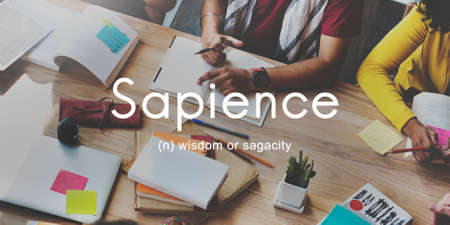 highly: Sapience Highly Educated People Graphic Concept Stock Photo