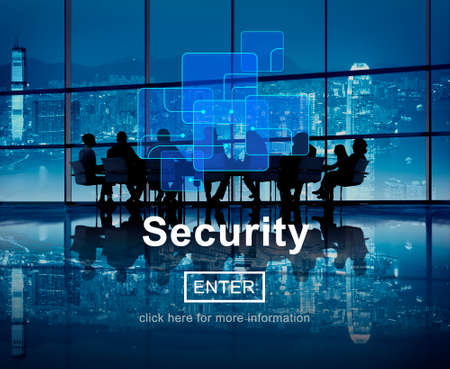 secrecy: Security Privacy Safety Protection Secrecy Concept Stock Photo