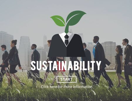 viable: Sustainability Think Green Ecology Environment Concept