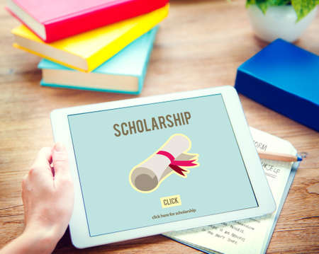 cost of education: Scholarship Aid Cost Education Finance Graduate Concept